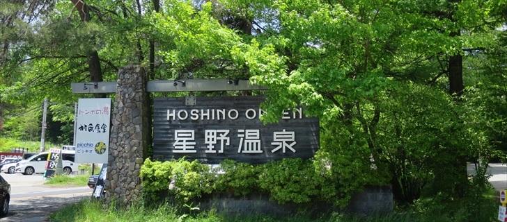 軽井沢の星野アリアが新緑に包まれています