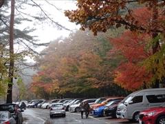 軽井沢 ホテルブレストンコート駐車場