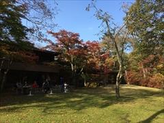 ホテル鹿島ノ森中庭 紅葉