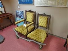 万平ホテル 資料館 椅子