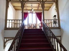 旧三笠ホテル 建物内