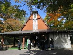 聖パウロカトリック教会 紅葉