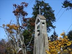 教会 鐘 30日晴れ