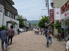 旧軽井沢 銀座通り 大城レース