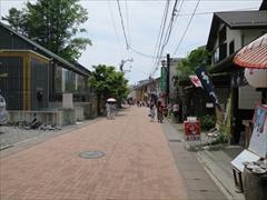 旧軽井沢 銀座通り ショッピングアレイ