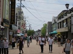 旧軽井沢 銀座通り 中山のジャム〜