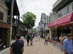 旧軽井沢 銀座通り 腸詰屋銀座中央