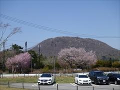 軽井沢 アウトレット アウトレットから浅間山を望む