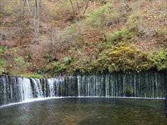 軽井沢 白糸の滝 正面