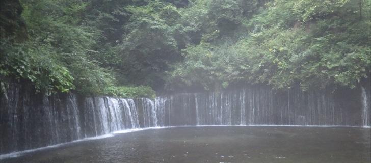 軽井沢 白糸の滝 夏