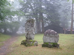 諏訪神社の石碑