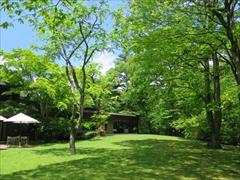ホテル鹿島ノ森 中庭