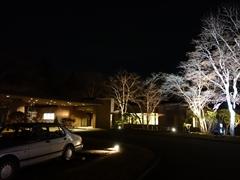 ホテル鹿島ノ森 正面 夜
