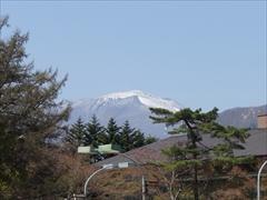 軽井沢 プリンスホテルウエスト 松と浅間山・離山