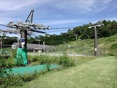 軽井沢 プリンスホテルウエスト スキーリフト付近