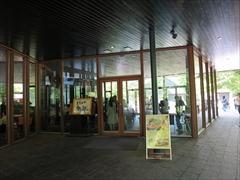 村民食堂の入口