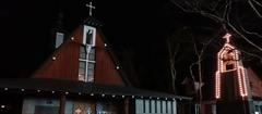 軽井沢 聖パウロカトリック教会 冬