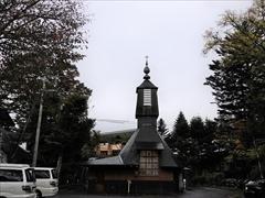 聖パウロカトリック教会 裏