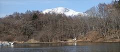軽井沢 タリアセン 塩沢湖 浅間山