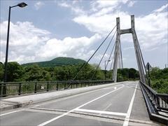 軽井沢 湯川ふるさと公園 浅間大橋