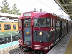 しなの鉄道 軽井沢駅ホーム