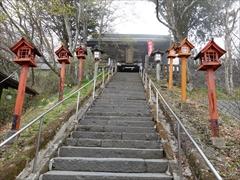 熊野皇大神社 階段