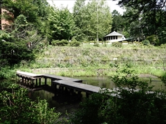 軽井沢 雲場池 2番目の橋