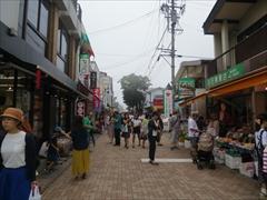 旧軽井沢銀座通り入口
