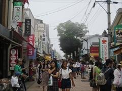 旧軽井沢銀座通り混雑