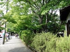 軽井沢 旧軽ロータリー