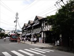 旧軽井沢駅舎