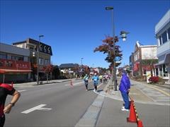 マラソン国道133号 紅葉