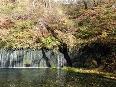 軽井沢 白糸の滝 右側