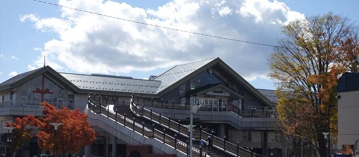 軽井沢 軽井沢駅北口紅葉
