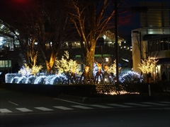 軽井沢 駅前イルミネーション
