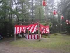 諏訪神社の夏祭り