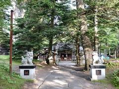 諏訪神社参道