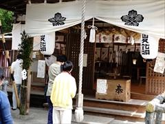 諏訪神社の拝殿