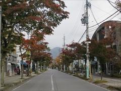 軽井沢駅〜旧軽 紅葉