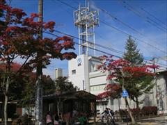 NTT軽井沢支店 紅葉