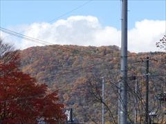 軽井沢 国道18号から離山 30日晴れ