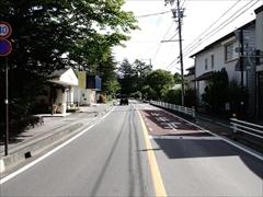 軽井沢 旧軽ロータリー方面