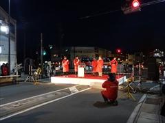 軽井沢 イルミネーション点灯 17:15