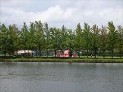 矢ヶ崎公園の池