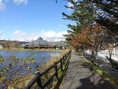 軽井沢 矢ヶ崎公園遊歩道 30日晴れ