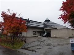 軽井沢 大賀ホール 紅葉 29日雨