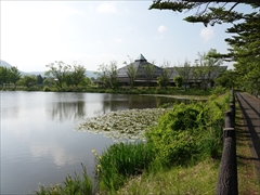 軽井沢 矢ヶ崎公園・大賀ホール 矢ヶ崎公園 大賀ホール