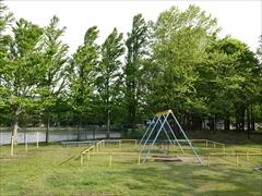軽井沢 矢ヶ崎公園・大賀ホール ブランコ、新緑