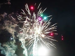 軽井沢 矢ヶ崎公園 花火大会 20時6分